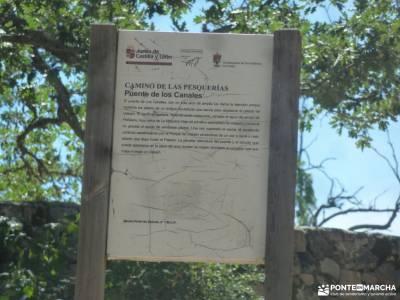Pesquerías Reales-Valsaín,Río Eresma;asturias senderismo sendero gr 48 rutas alcala de henares es